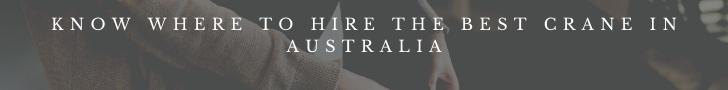 Crane hire Australia